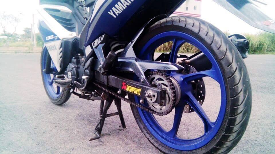 Exciter 135 do phong cach GP 2015 - 5