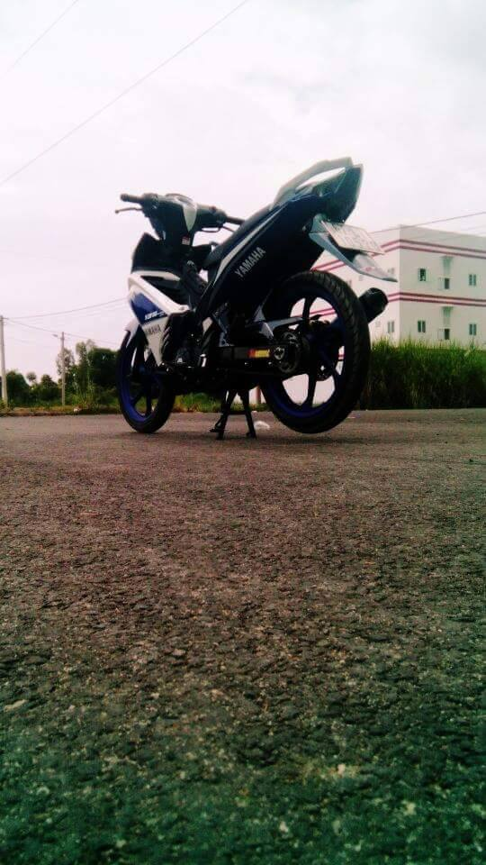 Exciter 135 do phong cach GP 2015 - 6