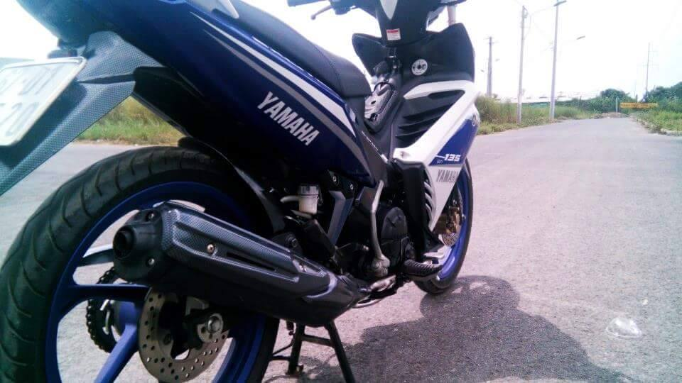 Exciter 135 do phong cach GP 2015 - 7