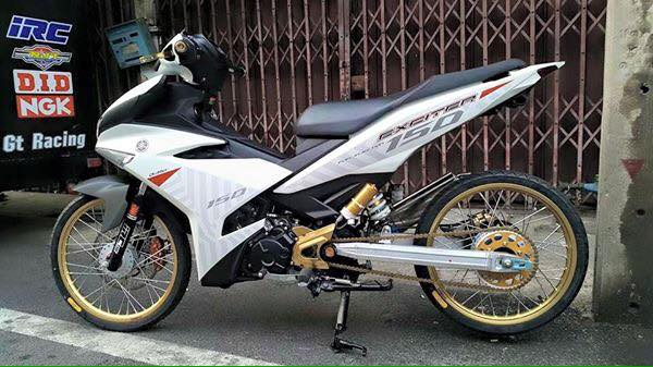 Exciter 150 do Drag tu Thailan