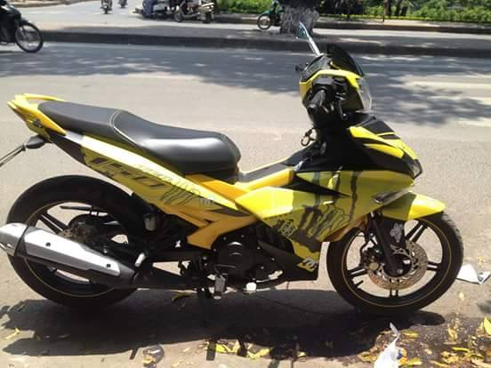 Exciter 150 Monster mau vang chuoi noi bat
