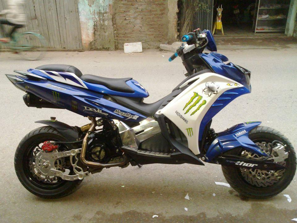 Exciter do khong the tin noi tu Yamaha Nouvo - 2