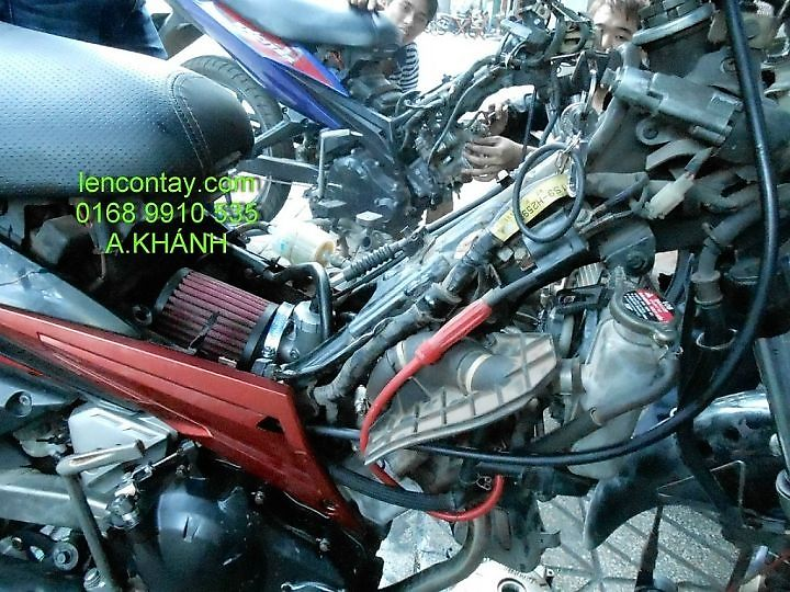EXCITER Nang cap may len full 135cc 150cc 175cc 200cc lam may tu do va noi do cho exciter - 9