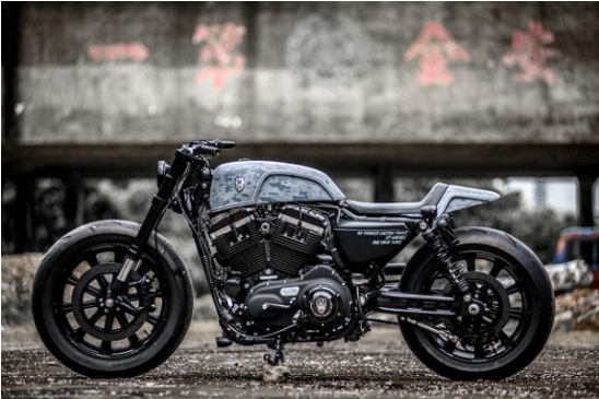 Harley Davidson moto chien do phong cach Streetfighter