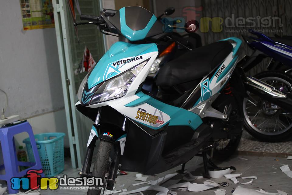 Honda Air Blade petronas do chat