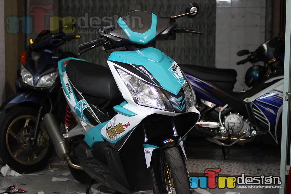 Honda Air Blade petronas do chat - 5