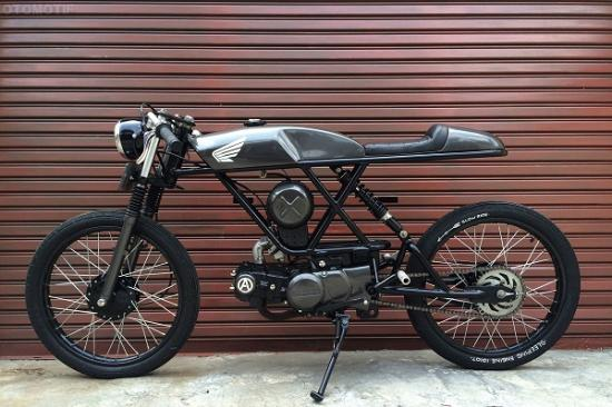 Honda Win 100 do Cafe racer vo cung doc dao