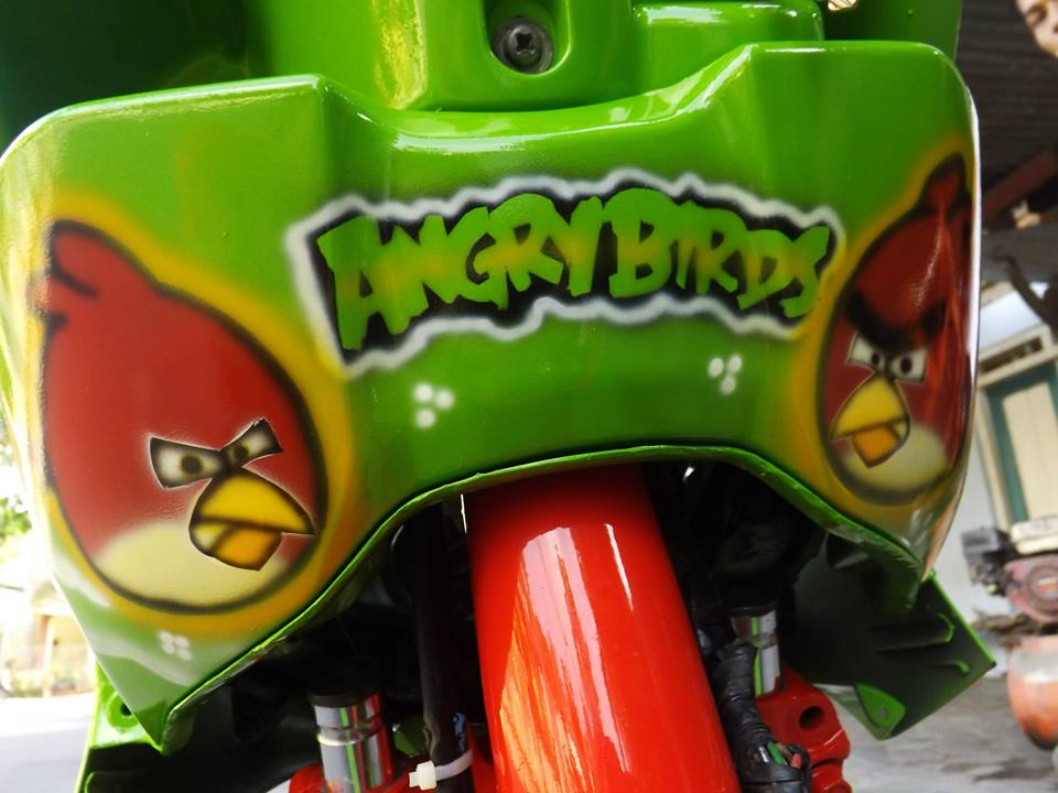 Mio Drag phien ban Angry birds - 3