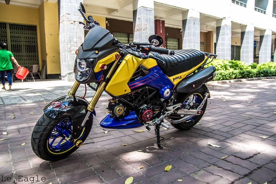 MSX125 do lung linh tai Sai Gon - 2