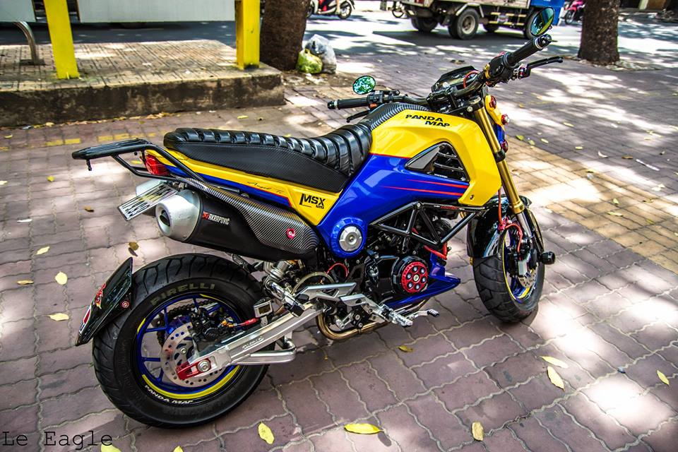 MSX125 do lung linh tai Sai Gon - 6