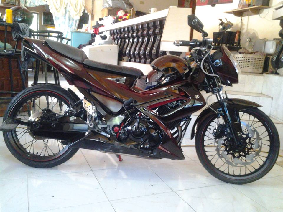 Suzuki Raider ban do day an tuong kieu moto pkl