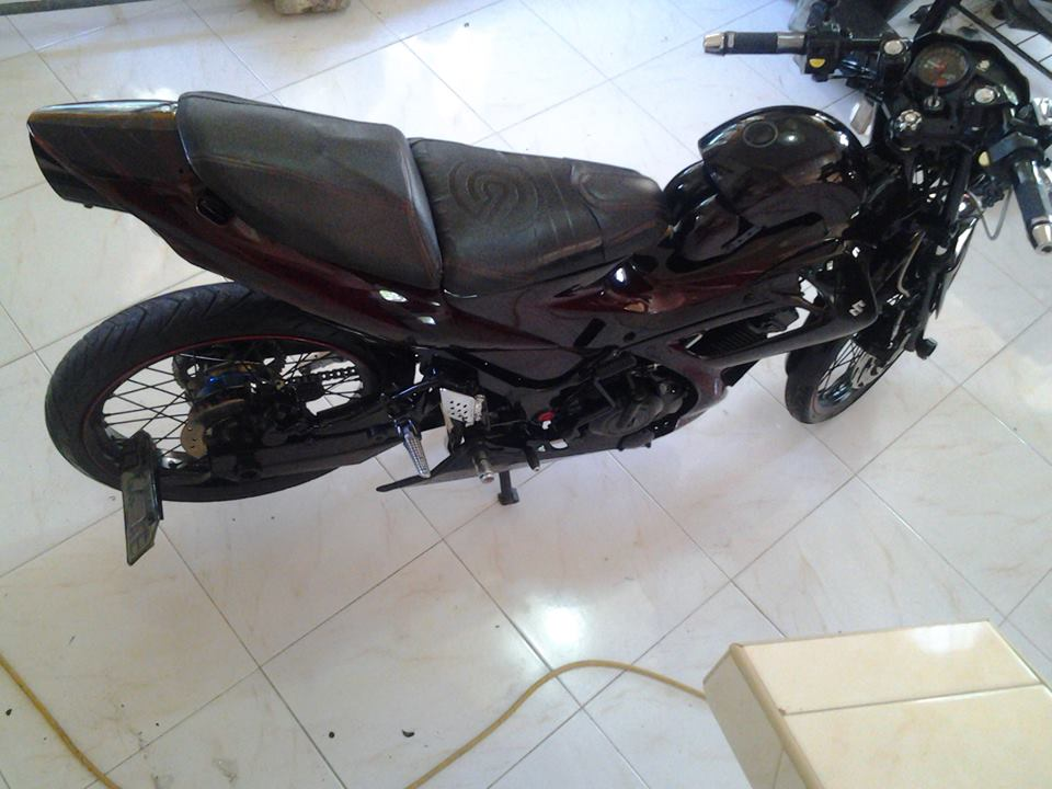 Suzuki Raider ban do day an tuong kieu moto pkl - 4