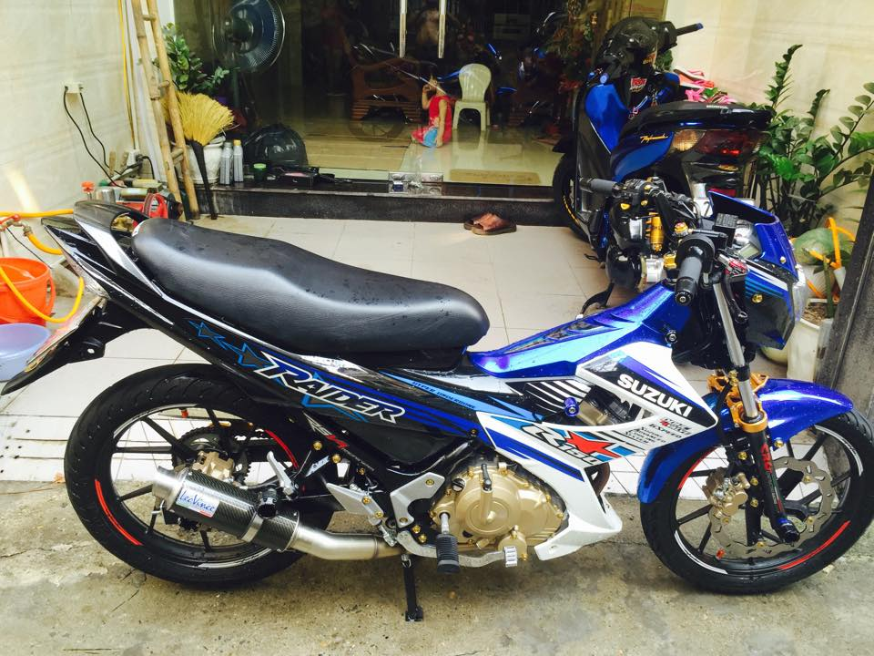 Suzuki Raider do noi bat cua biker Ha Thanh - 7