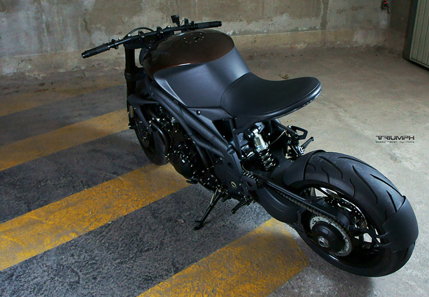 Tuyet pham Impoz Speed Racer den tu Triumph Speed Triple 1050 - 2