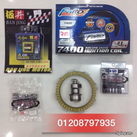 Viet BMC CDI Racing Do Choi UMA RacingBoy Mobin IC Do YCS Do Kieng - 4