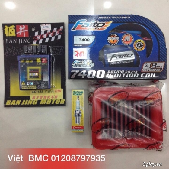 Viet BMC CDI Racing Do Choi UMA RacingBoy Mobin IC Do YCS Do Kieng - 6
