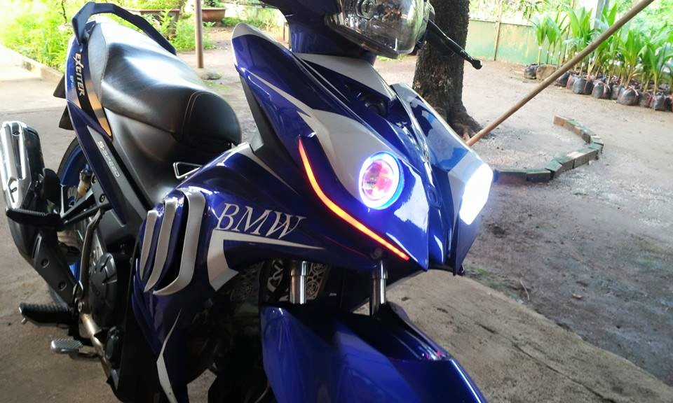 Exciter che mu ham ho tu y tuong BMW S1000rr - 3