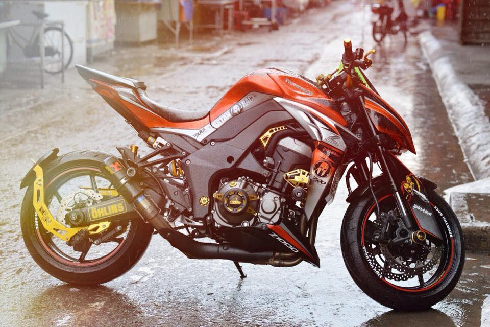 Z1000 than thanh len full body kits - 2