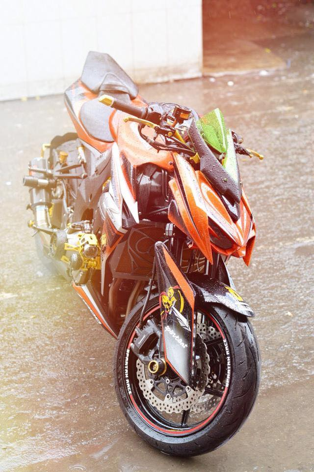 Z1000 than thanh len full body kits - 3