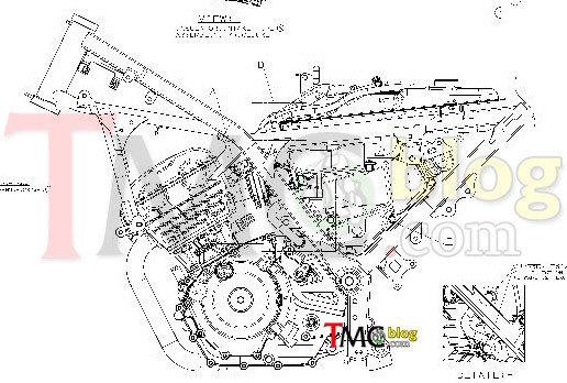 Initial Sketch Includes Both Chassis Engine Block Of The New Version Satria Fu Through Drawings We See Fuel Tank: Suzuki Raider 150 Engine Diagram At Satuska.co