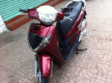 Can ban gap xe SH150i mau do do doi 2007