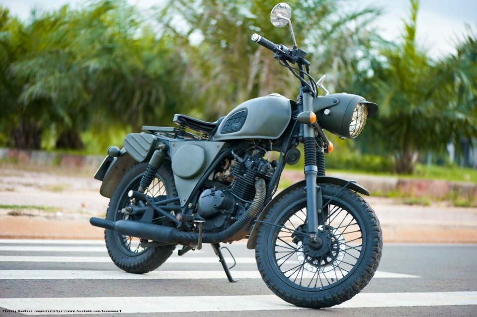 can ban se suzuki GN125 do len triumph amy - 2