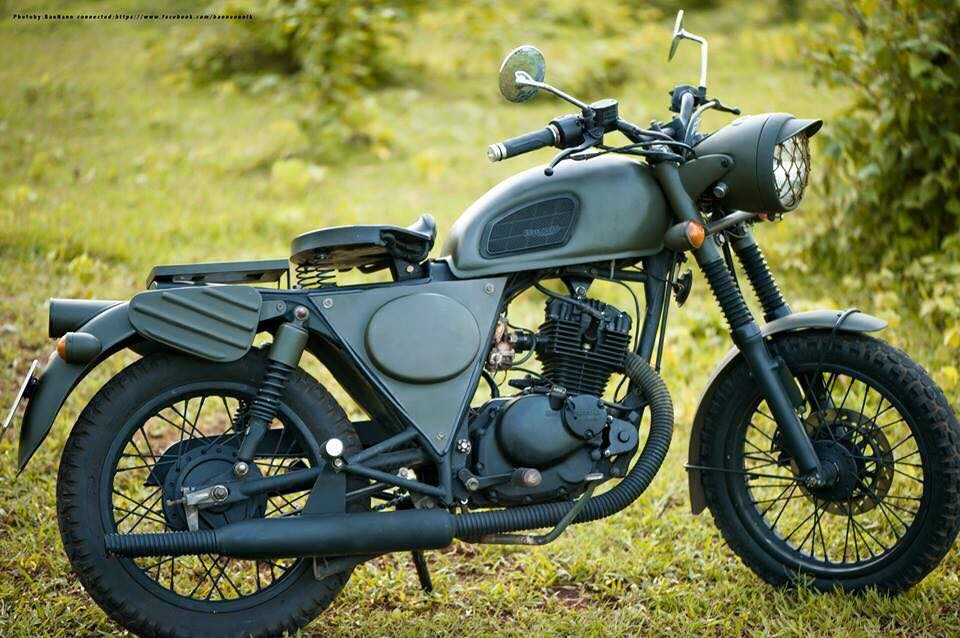 can ban se suzuki GN125 do len triumph amy - 4