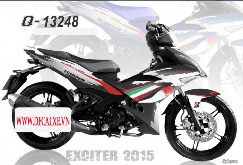 Tem xe Exciter 150 - 15