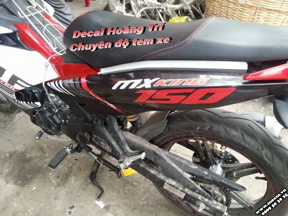 Do tem xe Exciter 150 RC MX King the thao - 2