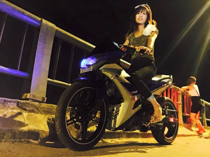 Exciter 150 do doc voi dan dau kieu sportbike