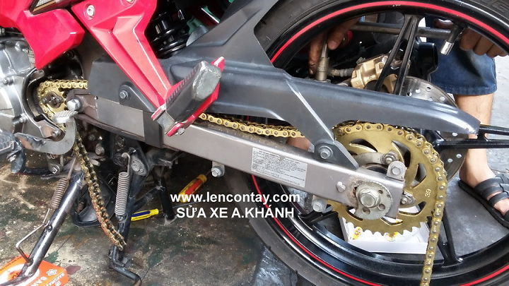 EXCITER Nang cap may len full 135cc 150cc 175cc 200cc lam may tu do va noi do cho exciter - 4