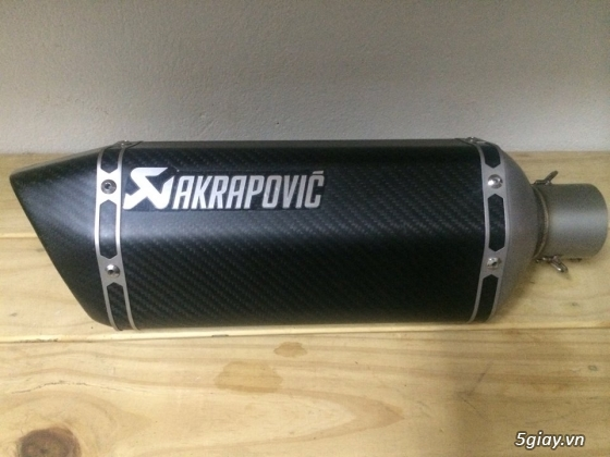 Hang sale po akrapovic titan carbon gia re cho ae - 4