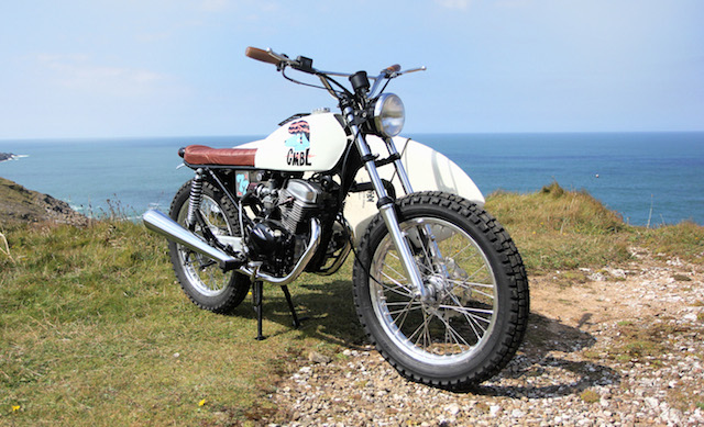Honda CB 125 do Tracker cua tay me luot song - 2