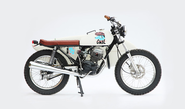 Honda CB 125 do Tracker cua tay me luot song - 3