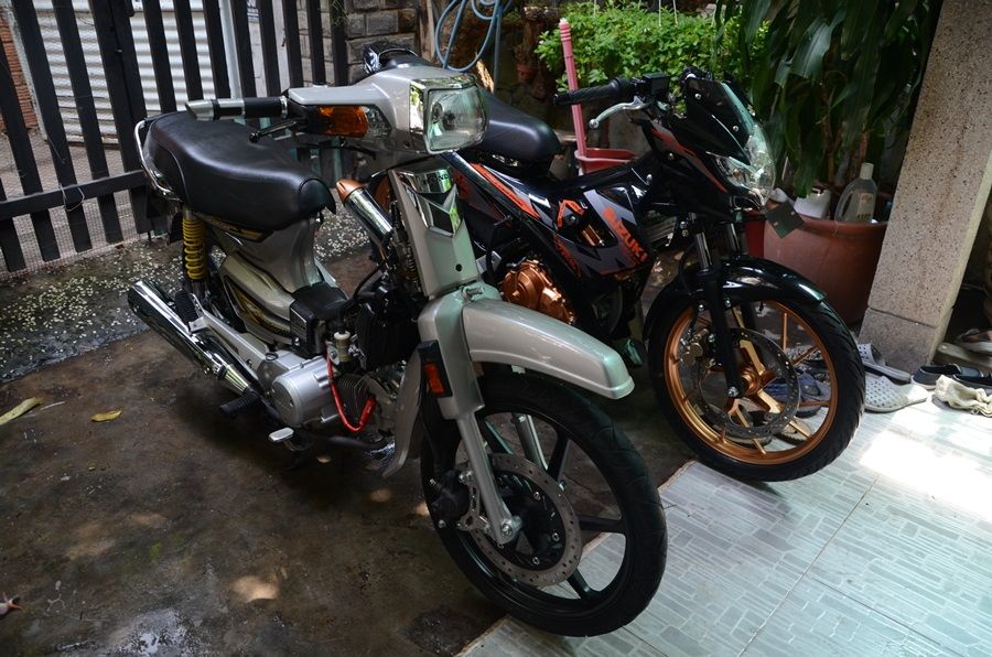 Honda Dream duoc do do choi hang trieu dong - 8