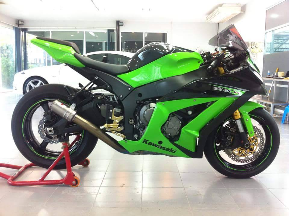 Kawasaki ZX10R do chat choi voi nhung option don gian - 11
