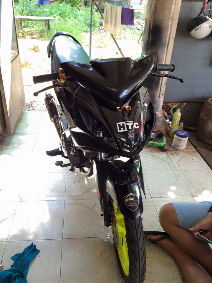 Loat anh chiec Exciter do phong cach xe dua cuc ngau - 4