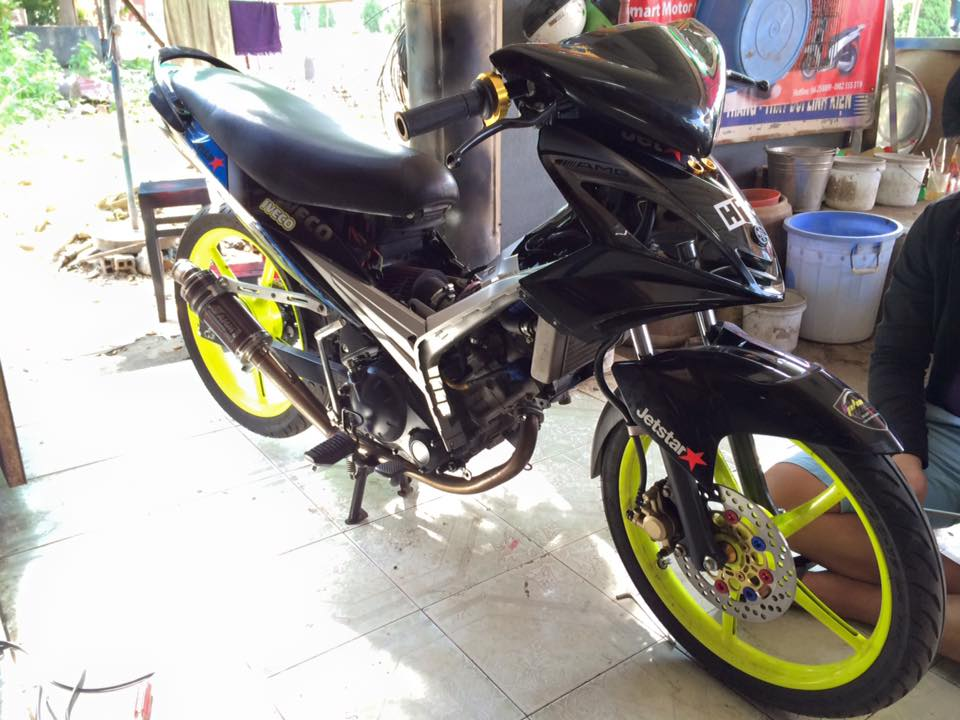 Loat anh chiec Exciter do phong cach xe dua cuc ngau - 5
