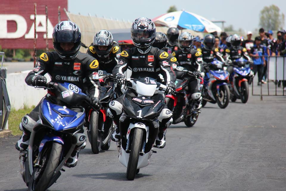 Nhung hinh anh moi nhat ve cuoc dua Exciter 150 Track Race phan 2 - 2