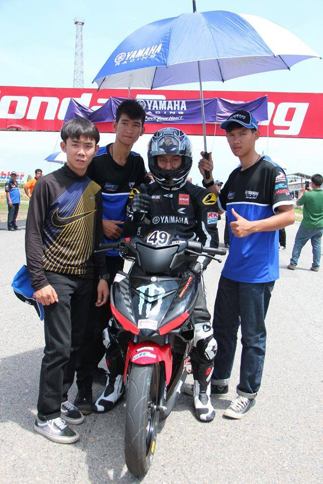 Nhung hinh anh moi nhat ve cuoc dua Exciter 150 Track Race phan 2 - 11