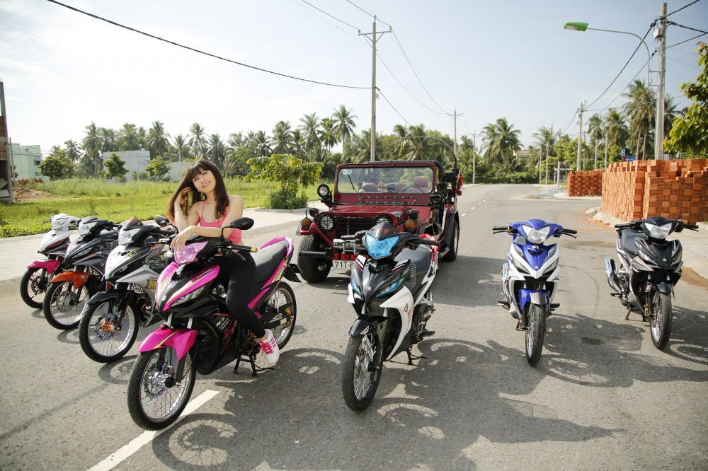 Racing Hot Girl And Exciter Bến Tre - 123985