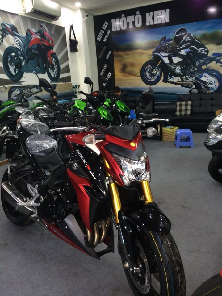 Showroom Moto Ken Suzuki GSX S1000 da ve den showroom nhe ae - 2