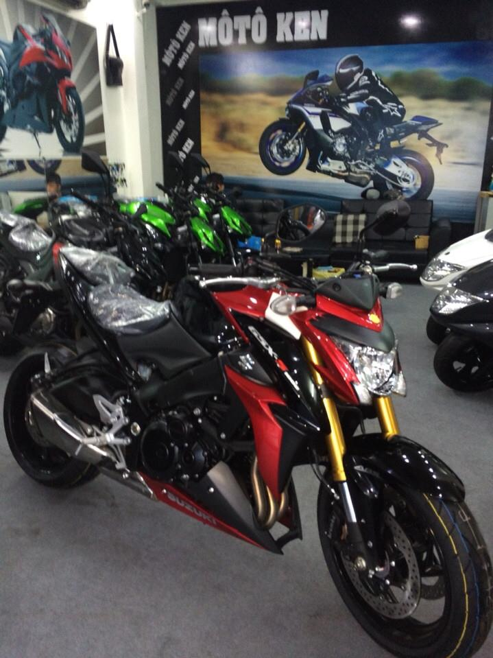 Showroom Moto Ken Suzuki GSX S1000 da ve den showroom nhe ae - 3