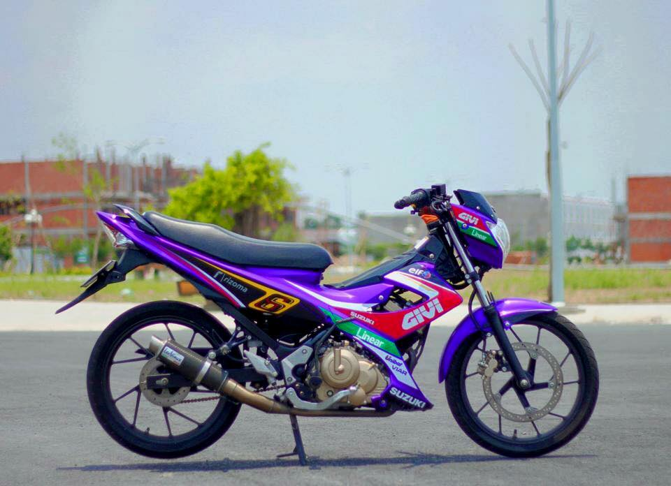 Suzuki raider do sac so dien mao moi - 6