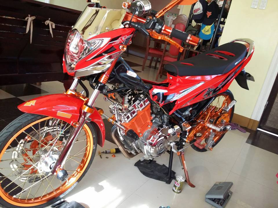 Suzuki Satria F do full option Racingboy