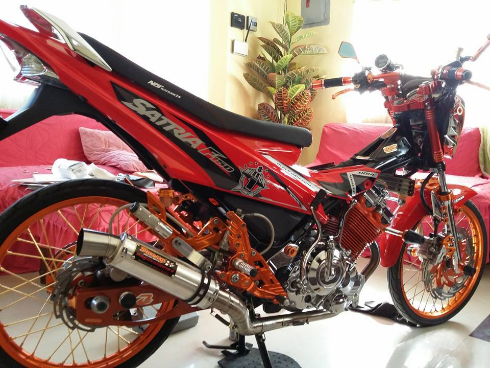 Suzuki Satria F do full option Racingboy - 4