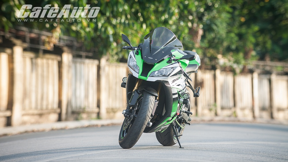 Tren yen Kawasaki Ninja ZX10R 2015 co may toc do that thu - 5