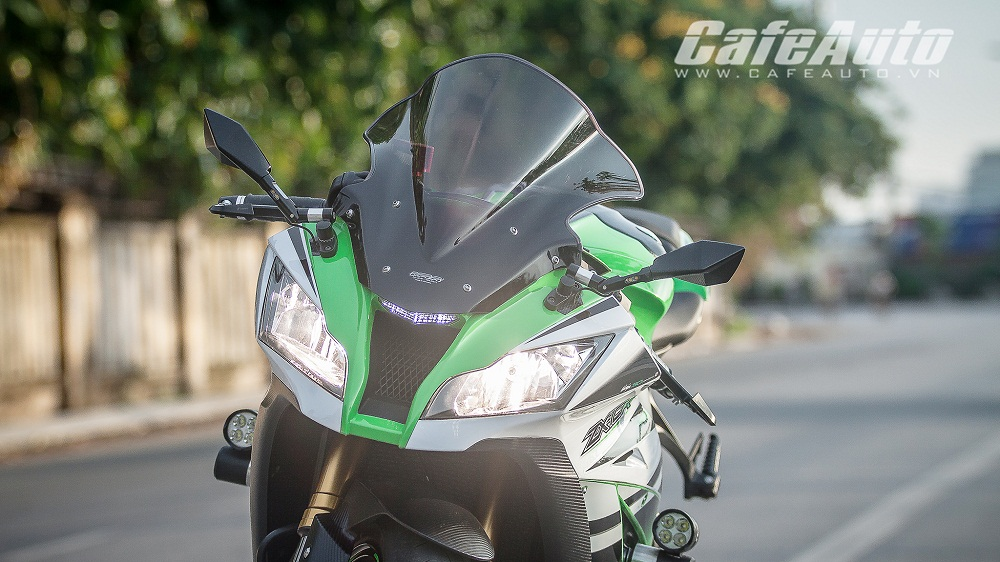 Tren yen Kawasaki Ninja ZX10R 2015 co may toc do that thu - 7