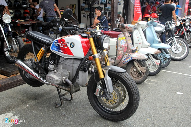 BMW R80GS Do Tracker tai Sai Gon - 4