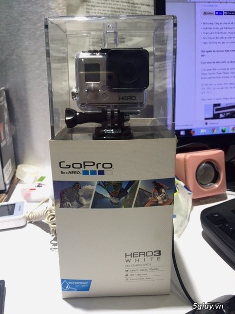 CAMERA GoPro HERO 3FULL BOX 100 ON SEAL - 6